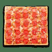 Pizza tradicional 4 carnes (grande)