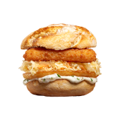 Fishburger zimowy