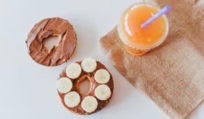 Bagel Nutella & Banana