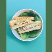 Sándwich chicken spicy mayo