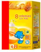 Papilla +6m 8 cereales miel