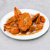 Crab in ginger or black bean sauce
