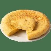 Tortilla de patata con cebolla (1100 g.)
