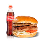 Combo 5 - Jano's regular + Coca Cola (1/2 lt.)