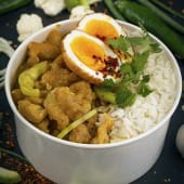 Thai Chicken with Yellow Curry*