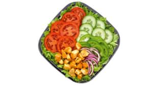 Menu Salade Poulet Tikka