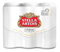 Cerveza Stella Artois Rubia Premium Six Pack (269cc.)