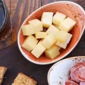 Tacos de queso manchego