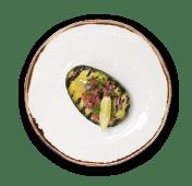 Grilled Avocado con Pico de Gallo