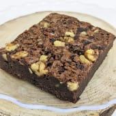 Brownie Con Syrup De Nutella Y Oreo