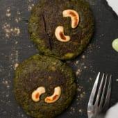 Redondas de verduras (hara tawa kebab)