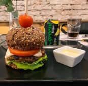 Vege burger od leblebija