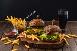Menú burger