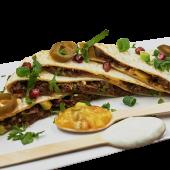 Quesadilla z szarpana wołowina