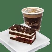 Combo Cafea + Prajitura