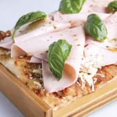 Pizza jamón cocido mediana