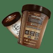 Helado vegano de chocolate negro (450 ml.)
