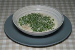 Вершковий суп з фрикадельками та сиром Дор-Блю (300г)