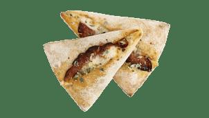 Pane all'Aglio con Mozzarella e Peperoni