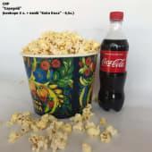 Середній попкорн сир (3л) + напій Кока-Кола (0,5л)