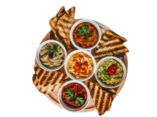 Platou salate aperitiv -2/4 persoane