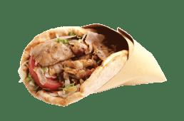 Gyros porcija