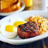 Oklahoma Fried Steak & Eggs