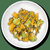 Verduras asadas al romesco