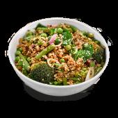 Vegan wok green