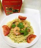 Спагеті з креветками (300г)