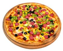 Sosisli Pizza (32 cm.)