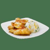 80. Pollo tempura