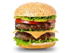 Двойной мачо чизбургер