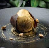 Мус з праліне із лісового горіху та солоною карамеллю (125г)