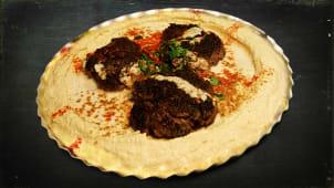 Hummus Kebab