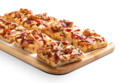 Pizza chicken BBQ