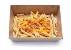 Картопля з сирним соусом і беконом (200г)
