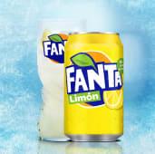 Fanta Limón lata (33 cl.)