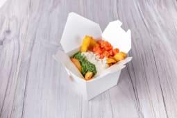 Печена картопля з соусом Дорблю (350г)