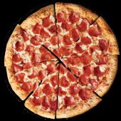 Pizza pepperoni lover's familiar