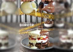Choclate Burger