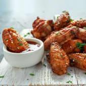 Alitas de pollo barbacoa (6 uds.)