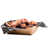 Alitas de Pollo con Salsa Bourbon (Ración Mediana)