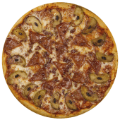 Pizza canadiense (personal)