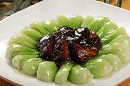 Грибы Паназия с китайской капустой
