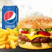 Meniu Mediu American burger