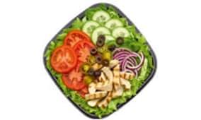 Menu Salade Poulet Nature