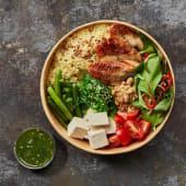 Боул з копченим вугром та салатом Чука(430г)