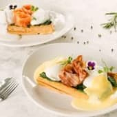 Яйця Бенедикт з лососем (200г)