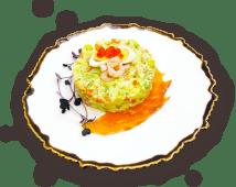 Олів'є з сьомгою та авокадо (300г)